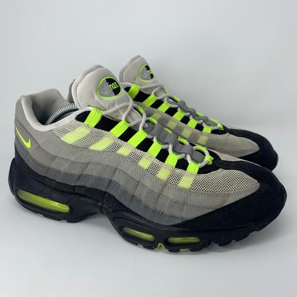Nike Air Max 95 OG Neon Men's Size 12 Green Volt